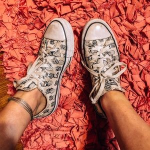 Converse Shoes (pineapples)
